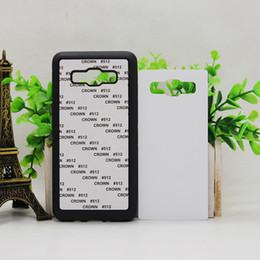 FOR Samsung Galaxy A3 A5 A510 J5 2017 J5 PRIME J510 J3 J310 PIXEL Rubber TPU DIY sublimation case with aluminium metal sheet Glue 100pcs lot