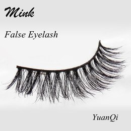 Promotion cils de scène False Eyelash Mink 008 Crisscross épais Coton Coton Coutures Naturel Long Messy Soft Beauty Maquillage Eye Fake Eyelashes Stage Lashes