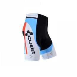2017 baberos ciclismo cubo 2017 CUBE Ropa Ciclismo Camisetas de ciclismo de equipo Bicicleta de secado rápido de desgaste ciclismo pantalones cortos ciclismo + bib baberos ciclismo cubo oferta