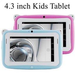 Wholesale 4 inch Children Kids Educational Mini Tablets PC RK2926 ARM Cortex A9 Dual Core MB GB GHz Capacitive Screen R430C AQ3