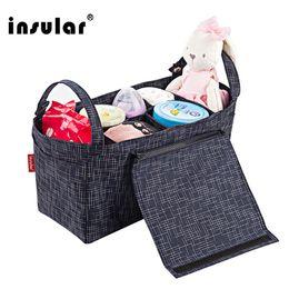 Wholesale Multifunctional 420D Nylon Baby Diaper Bag Waterppf Baby Strollers Bag Nappy Bag Liner