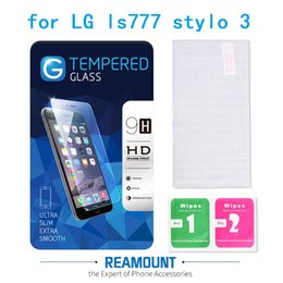 50 pcs Glossy Clear Frosted Matte Anti Glare Tempered Glass Protective Film Screen Protector for lg stylo 3