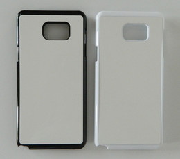 2d PC case for samsung galaxy note 5 sublimation case + blank metal plate 100pcs lot