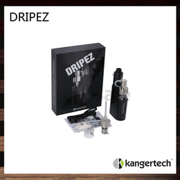 Wholesale Kanger Drip EZ W Kit Kangertech Dripbox EZ Unique Juice Pump Delivery System Unique Screwless Clamp Post Design Original