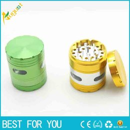 Wholesale New Side Window mm Electric Parts Grinders Aluminum Alloy Grinder Herb Tobacco Metal Grinder
