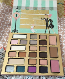 Wholesale 2017 Newest eyeshadow palette cosmetics Christmas gift too face in New York holiday makeup eyeshadow eyeshadow palettes The Chocolate Shop