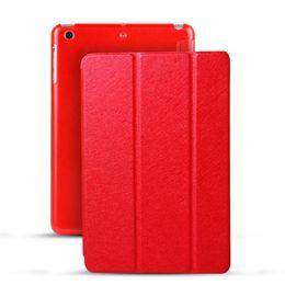 For iPad Mini 1 2 3 4 Smart Cover Case Folding Case With Auto Sleep Wake For iPad mini4 Factory Direct Sale Stocks Leather Case For mini2