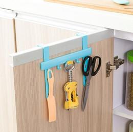 Wholesale kitchen bath accessories organizer hanging cupboard door cabinet back style stand trash garbage bags storage holder racks