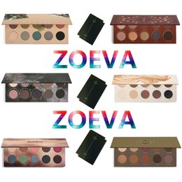 Wholesale ZOEVA Eyeshadow Glow Kit Palette Mixed Metals Cocoa Blend Rose Golden NATURALLY YOURS RODEO BELLE SMOKY Nake Eye Shadow