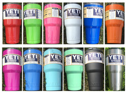 Wholesale Yeti oz oz oz Rambler Tumbler Bilayer Insulation Cups Cars Beer Mug Large Capacity Mug Tumblerful good