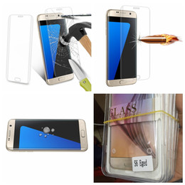 0.2mm 3D Curved Bending Clear Full Screen Tempered Glass Screen Protector For Galaxy Note 9 S9 S8 Plus S7 Edge S6 Edge With Retail Packages