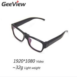 2017 caméra verre usb Vente en gros-1920 * 1080 Mini-lunettes cachées Caméra Smart Glasses HD Camera Glasses Enregistreur vidéo USB Sunglass pour l'extérieur Myopic E caméra verre usb sur la vente