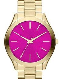 Los mejores relojes de moda de calidad en Línea-Las señoras de lujo de la manera de la alta calidad miran a señoras adelgazan el reloj de acero m3264 de la muñeca de cadena de la placa. Primera calidad de la clase, el mejor precio. Entrega gratis.