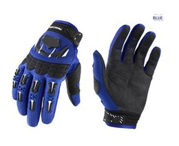 Wholesale Hot Sale New Air Line BMX MX Bicycle Cycling Gloves Black red blue Bike Polyester Off Road Moto Gloves