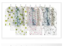 Compra Online Clips de bolsas-2017 Bolsas de almacenamiento de la venta caliente Ropa Semitransparente Traje Vestido Bolsa de la bolsa a prueba de polvo Espesar los clips de la bolsa Mantenimiento En stock