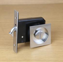 Wholesale Ke resistant stainless steel import wood doors lock shift locks indoor toilet bathroom balcony sliding door locks