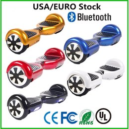 EURO USA Stock LED Scooters Balancing Wheel 6.5 inch Two Wheels Hoverboard Bluetooth Smart Self Balance Scooter Electric Skateboard