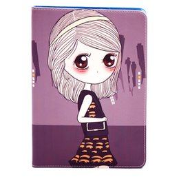 Case for ipad Pro 9.7 in, cute girl silicone soft shell flat protective dust cover ipad Pro 9.7in case cover