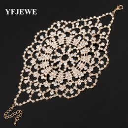 YFJEWE New Style Chain Link Bracelet for Women Ladies Wedding Evening Party Accessories Crystal Jewelry Bracelets Gift B124