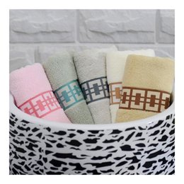 Wholesale 100 Cotton Towel Soft and Comfort Water Absorbent Towel Thick Washcloth Loop Towel Multicolor Porcelain Pattern Best Selling Good Quality B