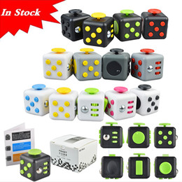 Wholesale Fidget cube New Popular Decompression Toy Fidget cube the world s first American decompression anxiety Toys In stock