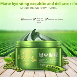 Wholesale Mung bean mud mask hydrating nutrition accuse oil washed mud mask face care F201 Face cream