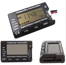 Wholesale CellMeter Digital Battery Capacity Checker LiPo LiFe Li Fe Li ion NiMH Nicd Battery Balancer Capacity Controller tester
