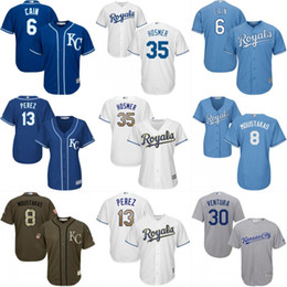 Dame ville en Ligne-Lady and Youth Kansas City Royals Jerseys 41 Danny Duffy 2 Alcides Escobar 8 Mike Moustakas 31 Ian Kennedy 37 Maillot Brandon Moss