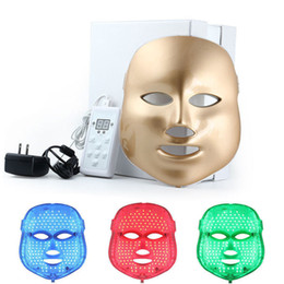 3 Color LED Photon Photodynamic PDT Facial Mask Skin Wrinkle Remove Acne Therapy