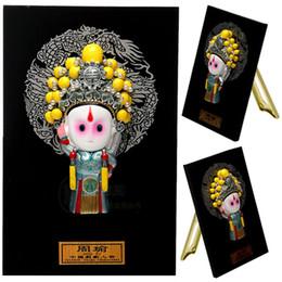 Zhou Yu China cartoon Figurine plate three characters Home Furnishing holiday ornaments wind birthday gift gifts to go abroad