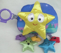 Wholesale Twinkle Little Star Cloth Book Bright Color Learning Baby Toy Washable Pages Design Can Hang