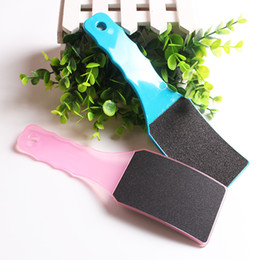 1pc Professional Plastic Sandpaper Foot File Feet Rasps Hard Dead Skin Callus Remover Pedicure Manicure Tools Exfoliate Beauty Nail Art Care