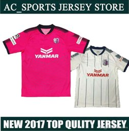Descuento camisetas de fútbol de color rosa 2017 J. Liga Urawa Cerezo Osaka camiseta de fútbol rosa, camiseta tailandesa de fútbol 16/17 Maillot De Foot Camisetas de fútbol