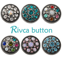 D02228 Free Shipping Fashion 18mm Snap Buttons DIY snap button noosa chunks leather bracelet Fit DIY Noosa button Bracelet Jewelry