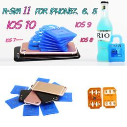 Wholesale R SIM RSIM11 RSIM Unlock Card for iphone s S S rsim ios10 X G G CDMA Sprint AU Softbank s direct use no Rpatch