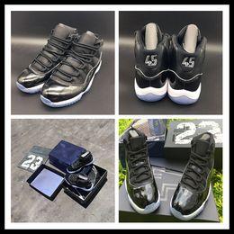 Wholesale mens news air Retro s Space Jam black blue MEN high Basketball Shoes Mens sports shoes HOT Discount size