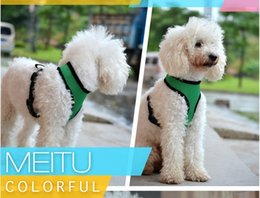 Wholesale Fashion nylon net dog pet harness Soft Air Mesh dog Harness pet clothes dog harness