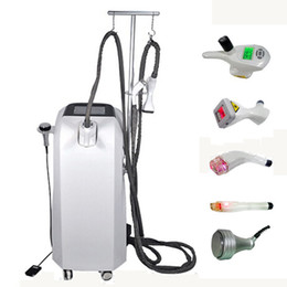 Vacuum+RF+Infrared Laser+Rollers+Cavitation Velashape for cellulit reduce and weight loss Machine