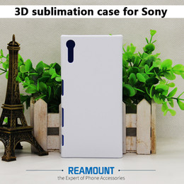 For Sony X XA Matte Glossy 3D DIY Blank sublimation plastic case Full Area Printed for M2 M4 M5