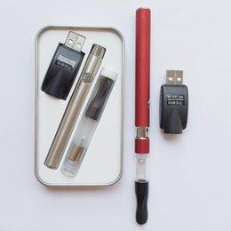 Wholesale Cbd vaporizer pen buddy bud dex mini vapor kits CE3 vaporizer starter kit for CBD thick oil USA hot selling