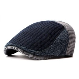 Compra Online Sombreros casual para los hombres-Sombrero de los Newsboys de los sombreros de los Knights de los sombreros de los Newsboys del invierno del otoño de la Al por mayor-Moda Gorras planas retras retras de los sombreros de las mujeres Gatsby del casquillo de la boina para los hombres y las mujeres