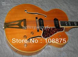 Vente en gros-2013 chaud de haute qualité nouveau style 6 cordes guitares électriques 400 CESN, Blonde, Super rare et de luxe (# GAT0230) 100% Qual super string guitars deals à partir de guitares à cordes de super fournisseurs