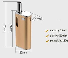 Free OEM Wholesale H10 Mystica VV Mini Vaporizer Cartridge Oil BUD Starter Kit 650mah Box Mod Gold Vape Pen Cartridges With CE3 Atomizer