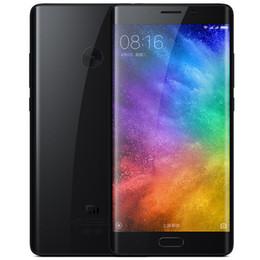 2017 écran tactile google 22.56MP Appareil photo Xiaomi Mi Note 2 4Go 64Go Qualcomm Snapdragon 821 Android 6.0 5,7 pouces Ecran courbé 1920 * 1080 FHD Touch ID 4G LTE Smartphone écran tactile google ventes