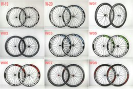 Wholesale Custom Paint Buy Hot Sell SuperTeam MM carbon wheels Clincher Tubular Road wheelset hub spoke