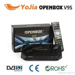 Wholesale Factory Original Openbox V9S v9 HD Satellite Receiver Support WEB TV Biss Key USB Wifi G CCCAMD NEWCAMD IPTV