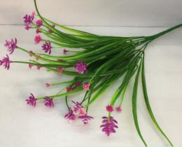 Artificial Flowers Mini Plastic Grass Plant Flower Wedding Flower Arrangement Home Decoration