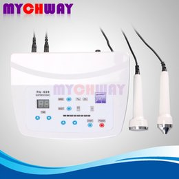Wholesale Skin Rejuvenation Massage Anti aging Dark Circle Removal Facial Care Painless Beauty Device With Ultrasound Probes For Different Areas