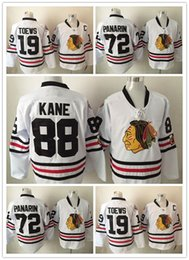 Wholesale Men Adult NHL Chicago Blackhawks Winter Classic Premier Jersey Patrick Kane Jonathan Toews Artemi Panarin White New Jerseys