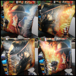 Anime ONE PIECE Monkey D. Luffy Portgas.D.Ace Sabo soft and comfortable Cushion pillow daily supplies present